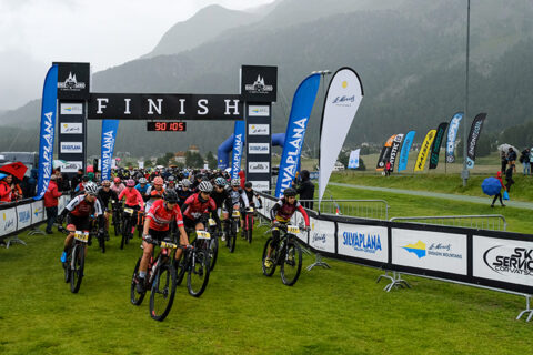 Engadin Bike Giro Race report.Day Two