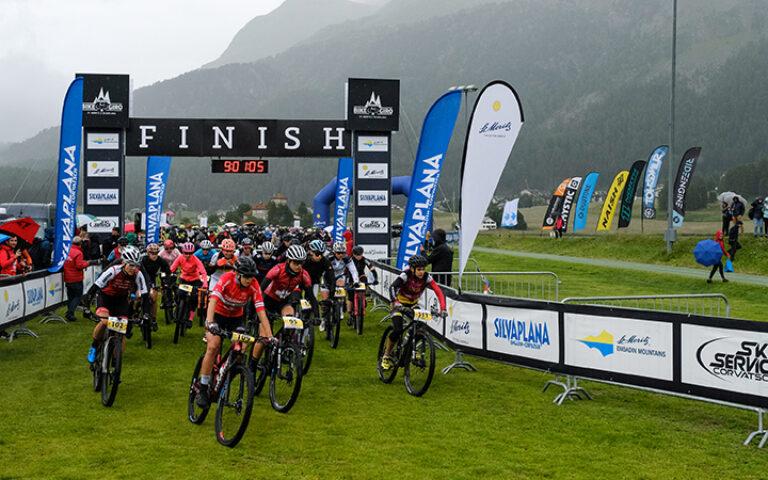 Engadin Bike Giro Race report.Day Two